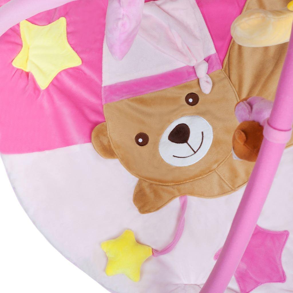 Hracia deka s melódiou PlayTo spaci medvedík ružová