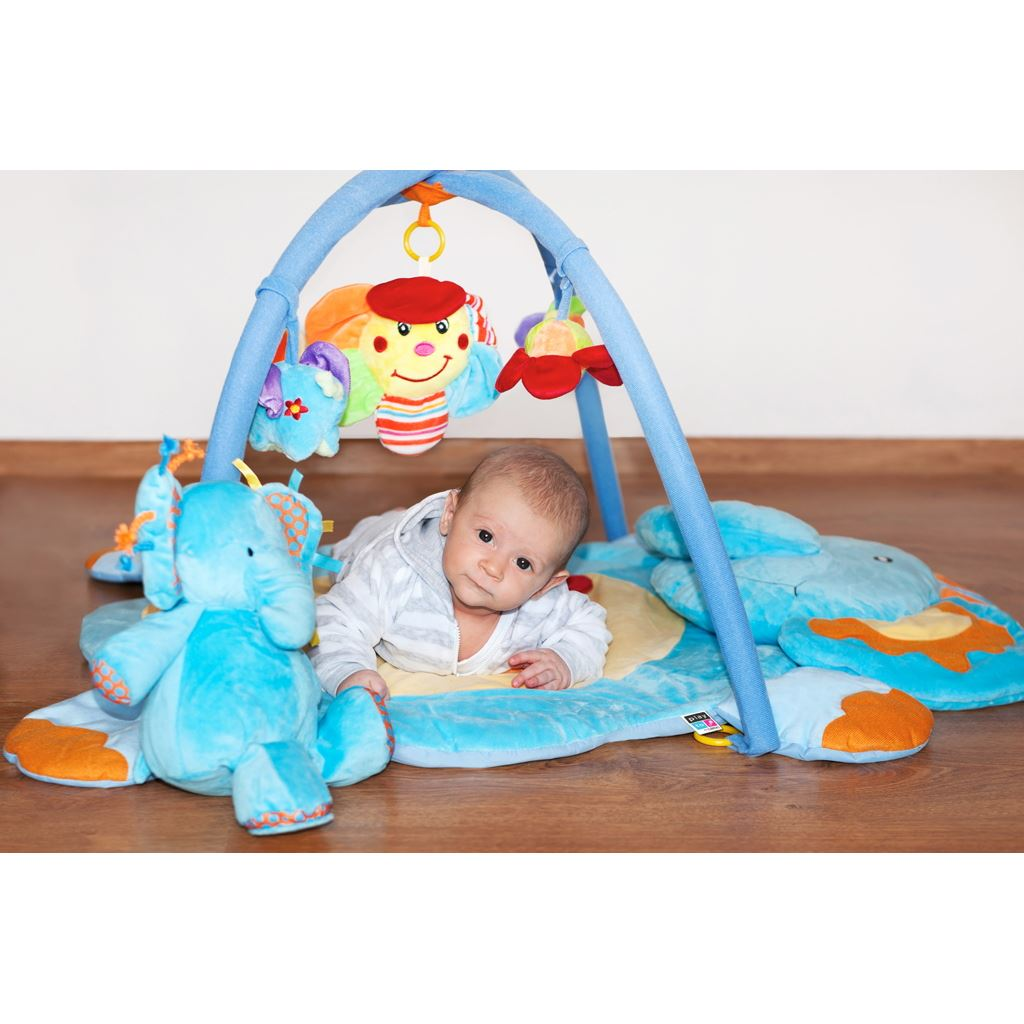 Hracia deka s melódiou PlayTo sloník s hračkou