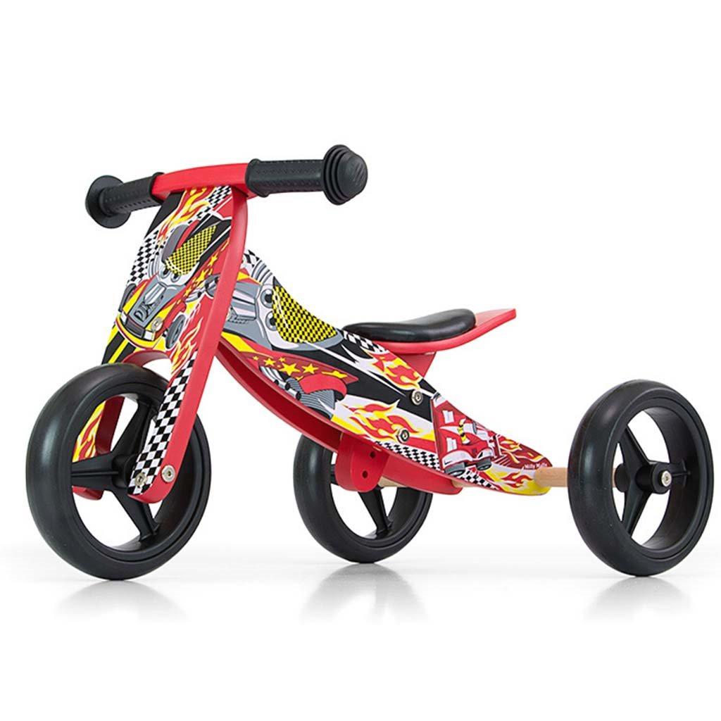 Detské multifunkčné odrážadlo bicykel Milly Mally JAKE red