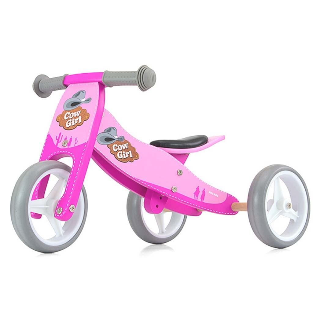 Detské multifunkčné odrážadlo bicykel Milly Mally JAKE pink Cowgirl