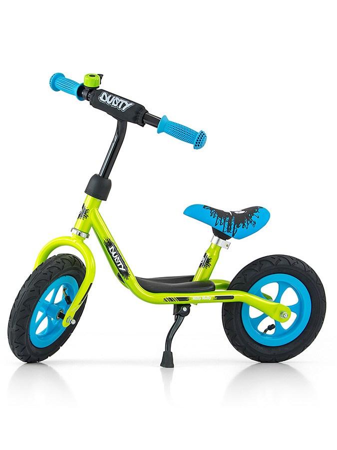 Detské odrážadlo bicykel Milly Mally Dusty green 12
