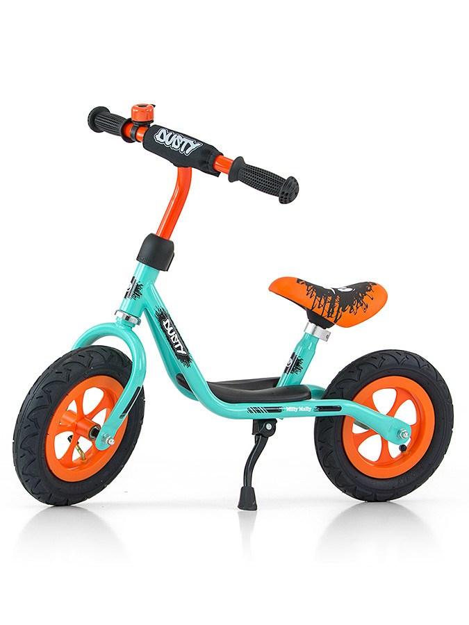 """Detské odrážadlo bicykel Milly Mally Dusty orange 12"""""""