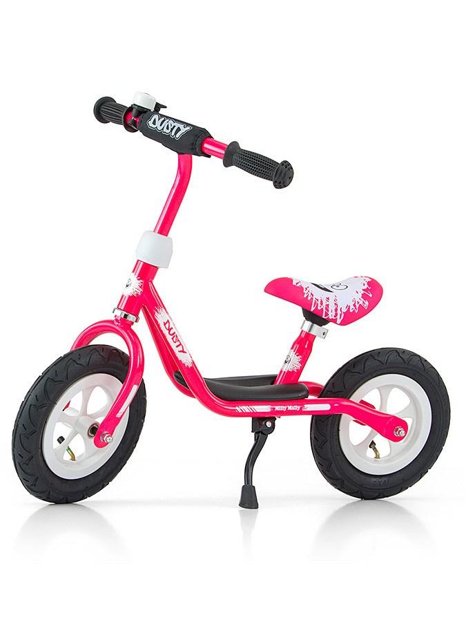 """Detské odrážadlo bicykel Milly Mally Dusty pink 12"""""""