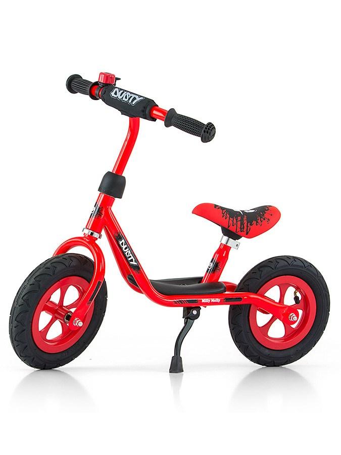 Detské odrážadlo bicykel Milly Mally Dusty red 12