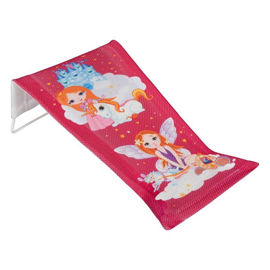 Látkové lehátko na kúpanie Malá Princzna ružové
