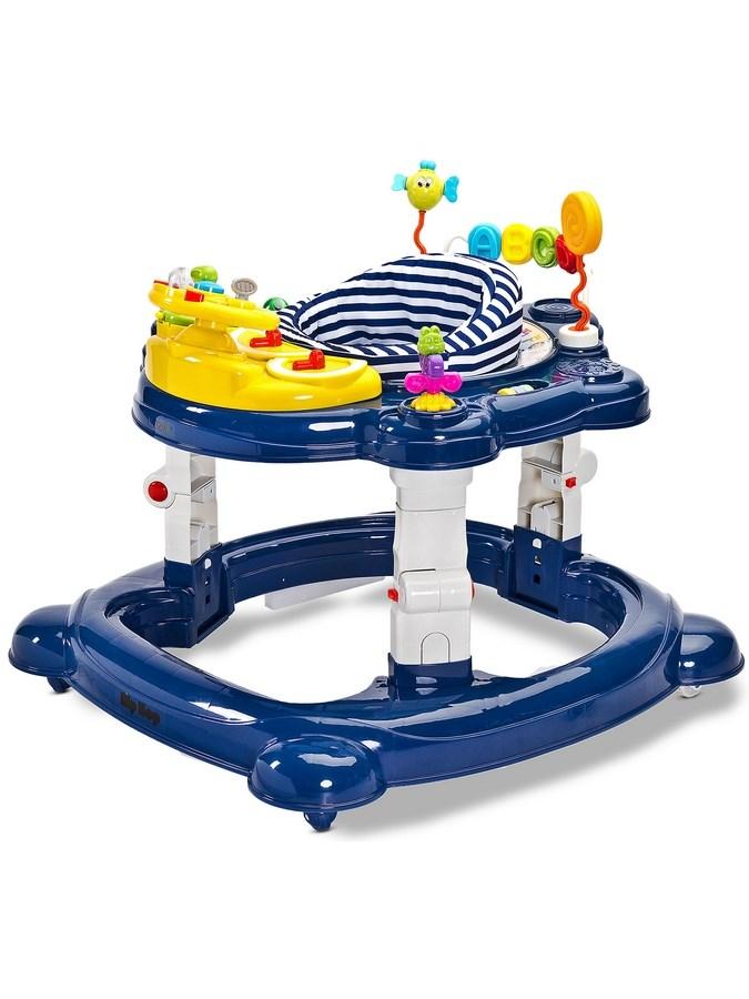 Detské chodítko Toyz HipHop 3v1 modré