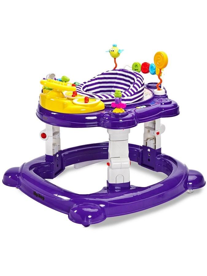 Detské chodítko Toyz HipHop 3v1 fialové