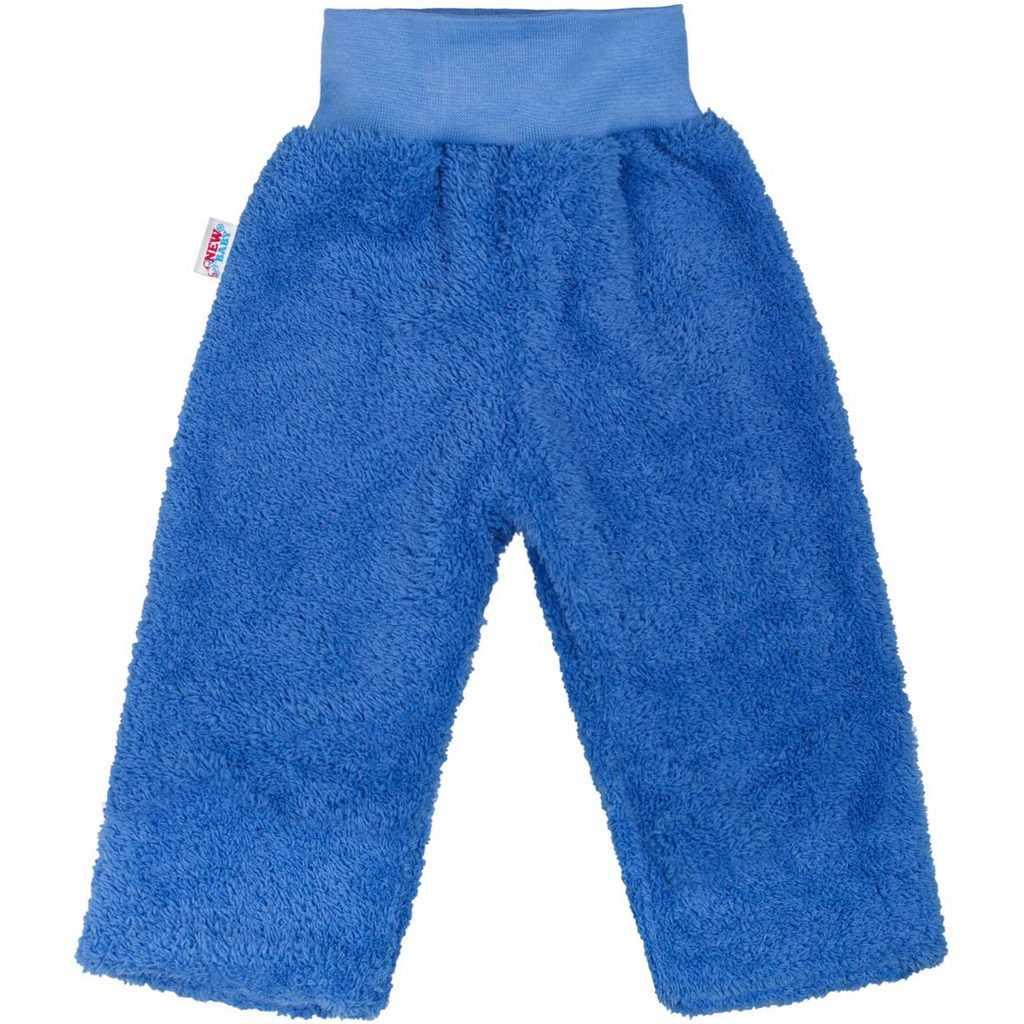 Zimné detské tepláčky New Baby Ušiačik modré