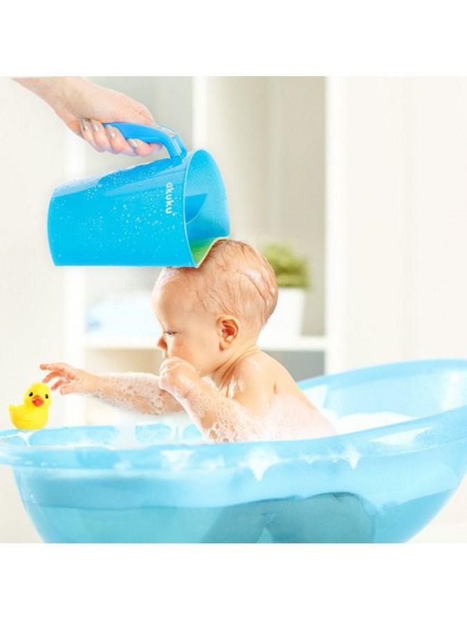 Nádobka na umývanie vlasov Akuku mätová