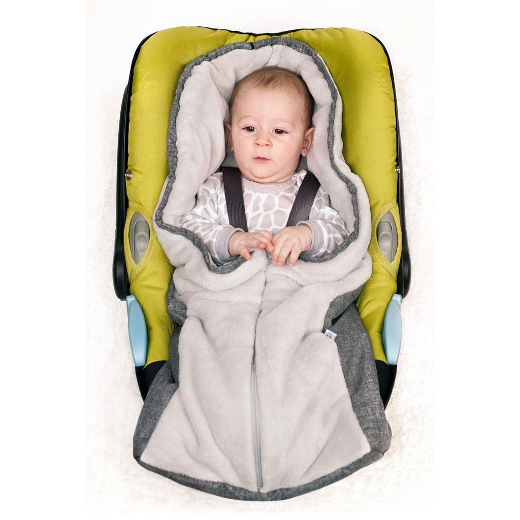 Luxusný zimný fusak New Baby Car beige