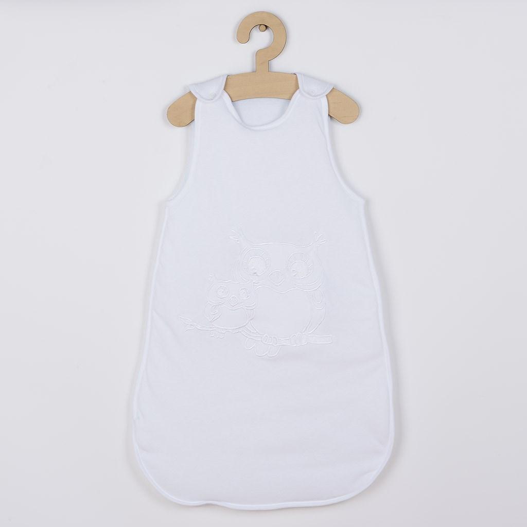 Spací vak New Baby Sovičky biely-104 (3-4r)