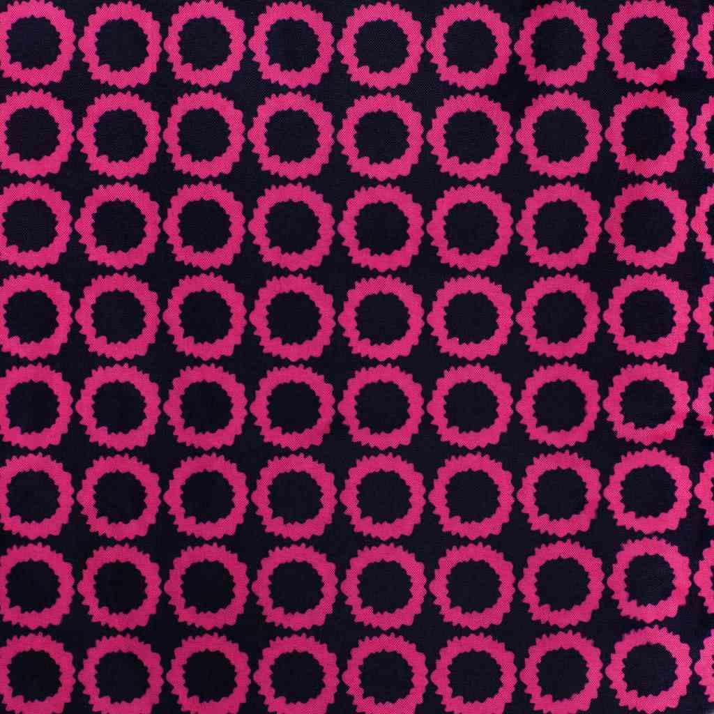 Hlboký kočík pre bábiky PlayTo Viola ružovo-čierny
