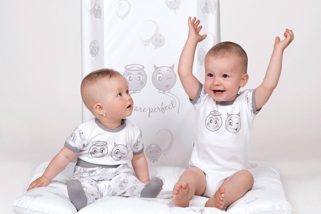 Prebaľovací nadstavec New Baby Emotions biely 50x80cm