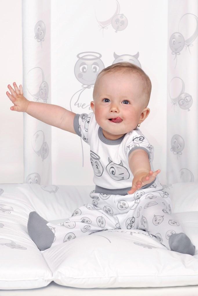 Prebaľovacia podložka New Baby Emotions biela 80x50cm