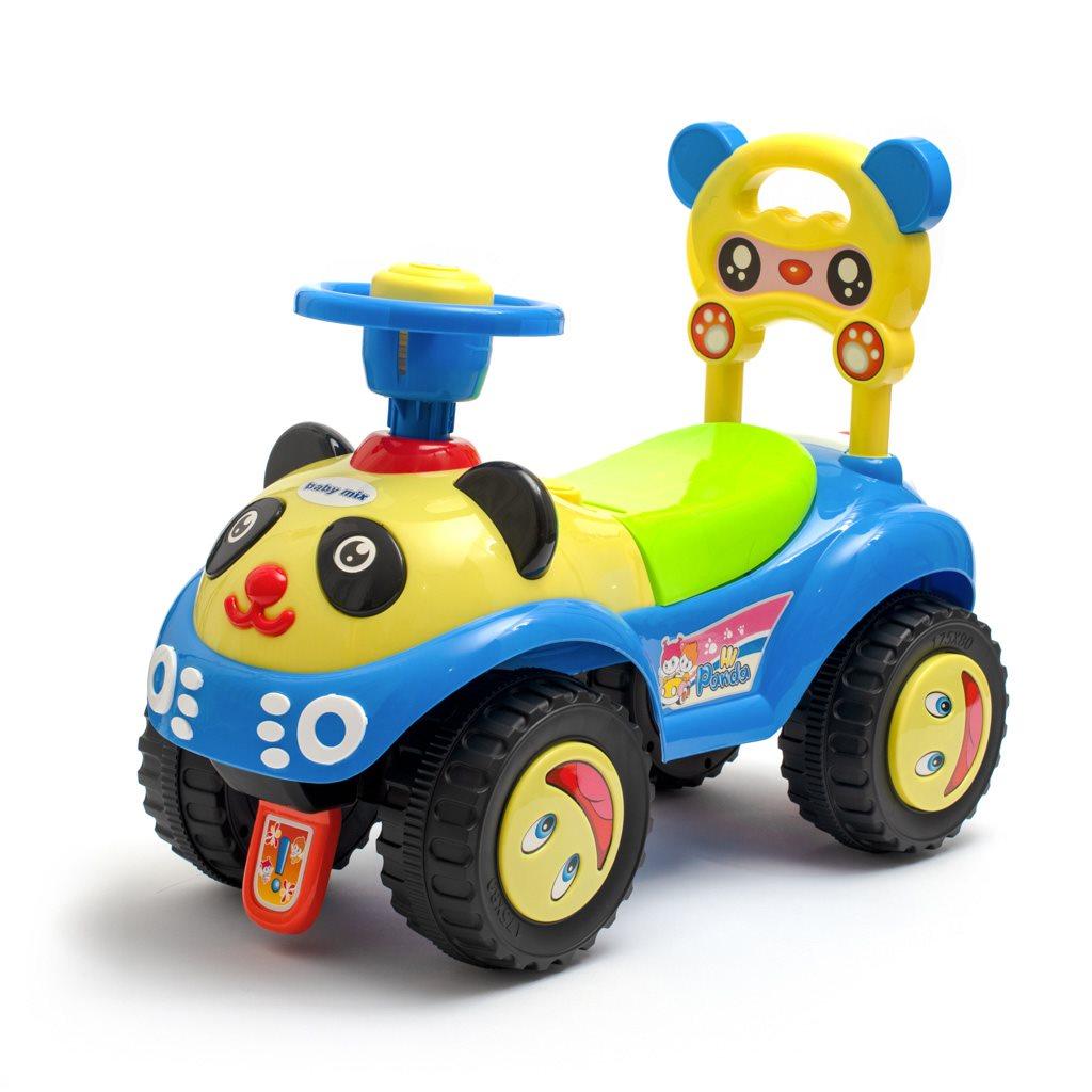 Jezdítko Panda Baby Mix blue