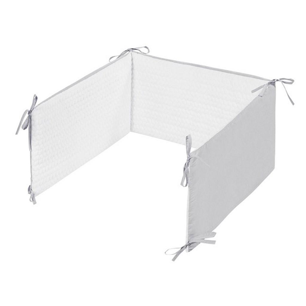 5-dielne posteľné obliečky Belisima Králiček 90/120 bielo-sivé
