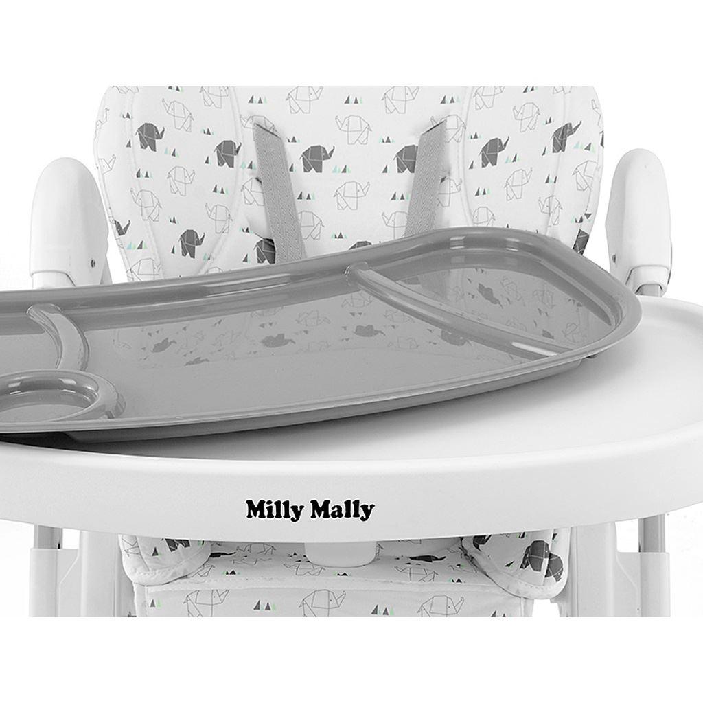 Jedálenská stolička Milly Mally Milano Sky