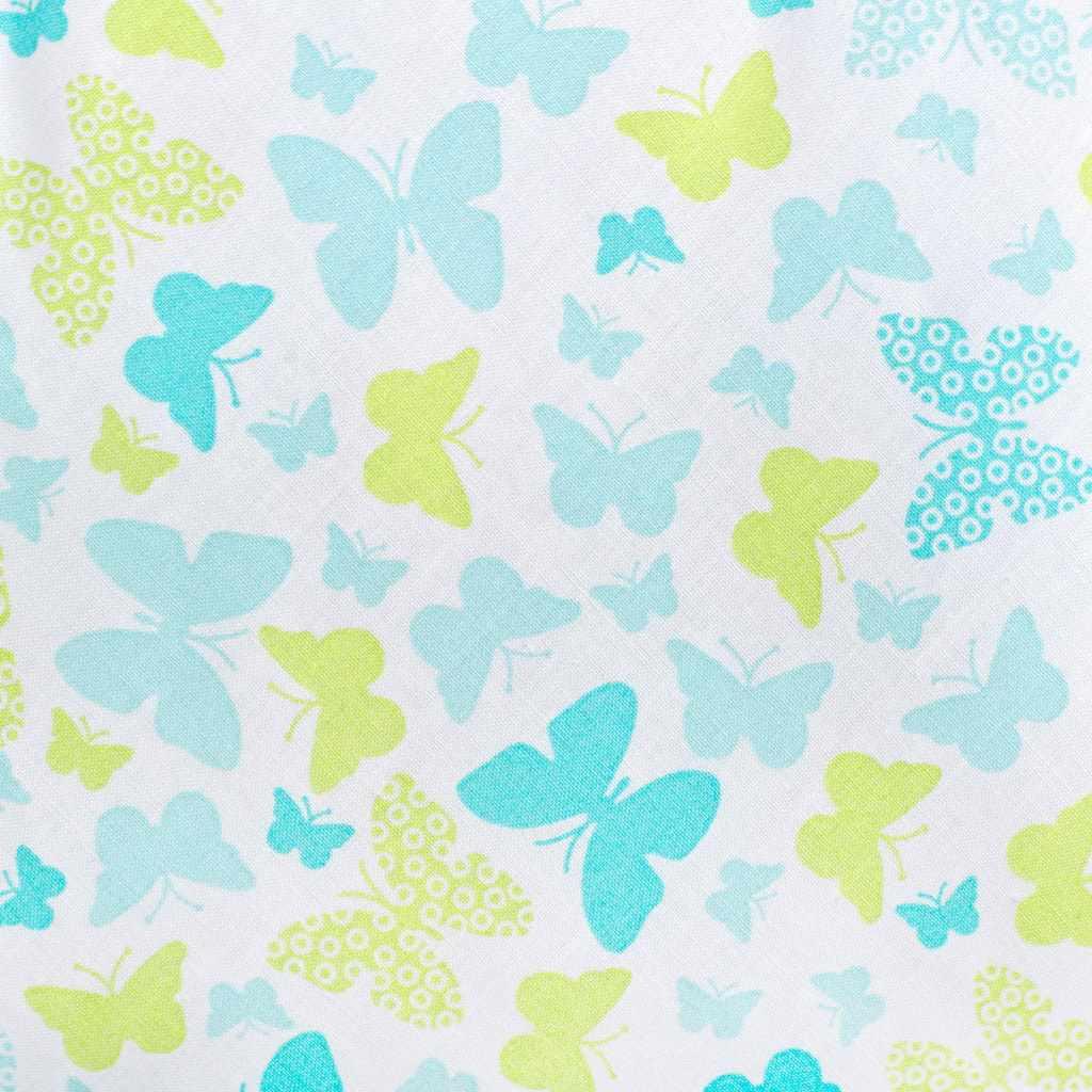 Luxusné hniezdočko s perinkou pre bábätko New Baby modré motýle
