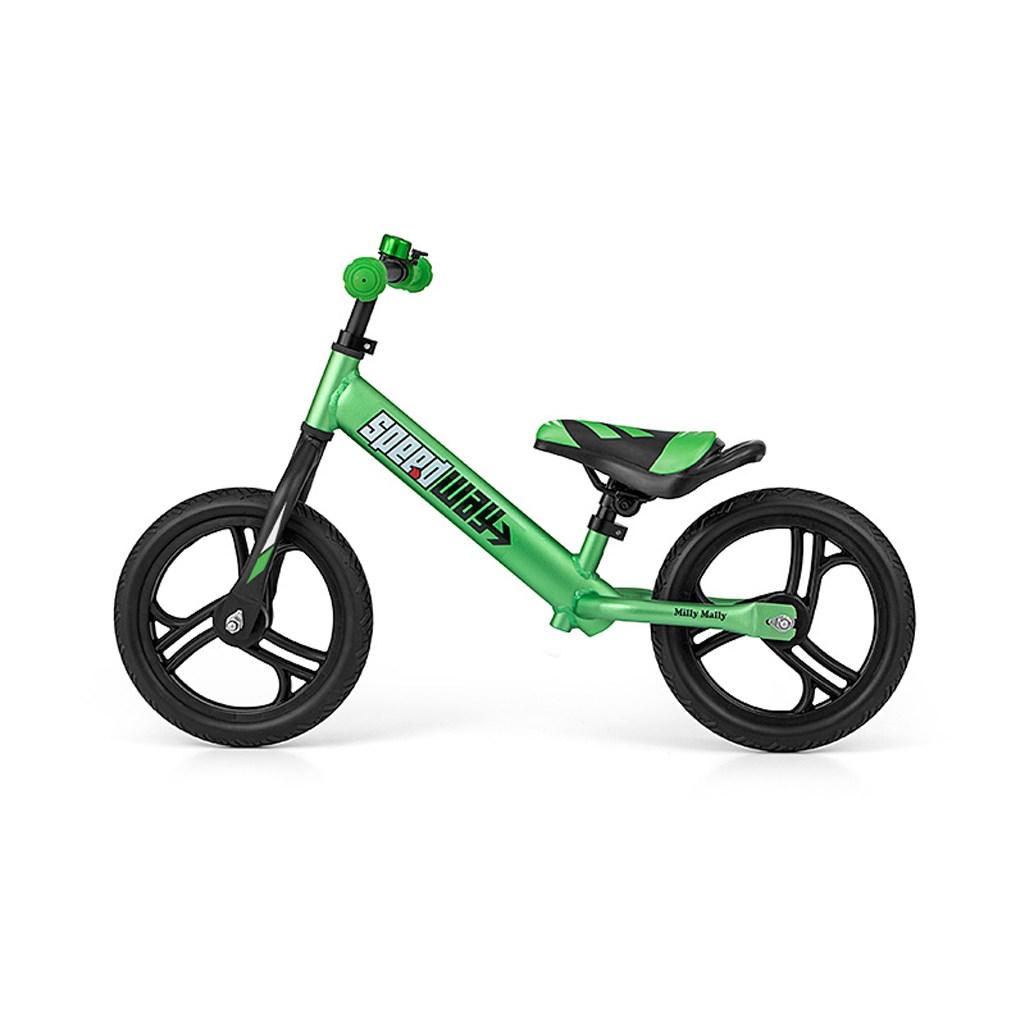 """Detské odrážadlo bicykel Milly Mally Speedway 12"""" green"""