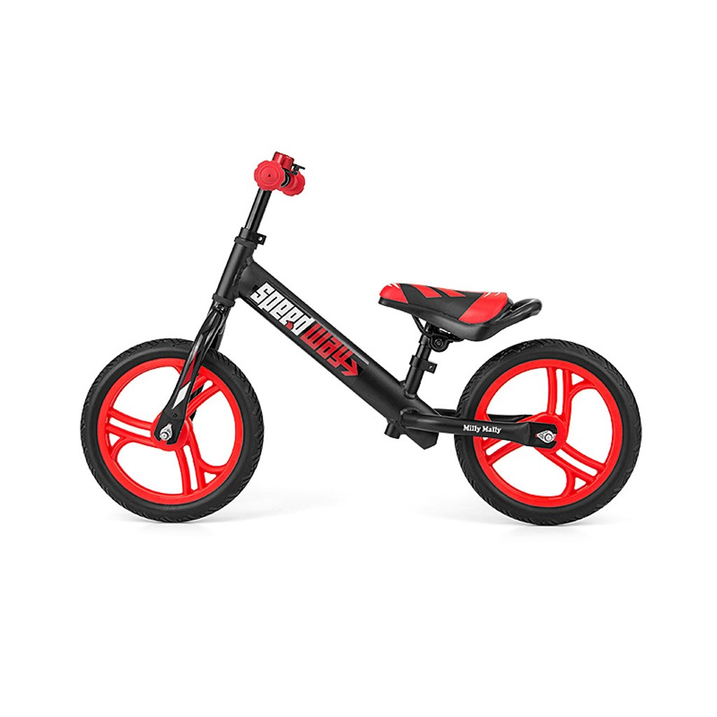 """Detské odrážadlo bicykel Milly Mally Speedway 12"""" black"""