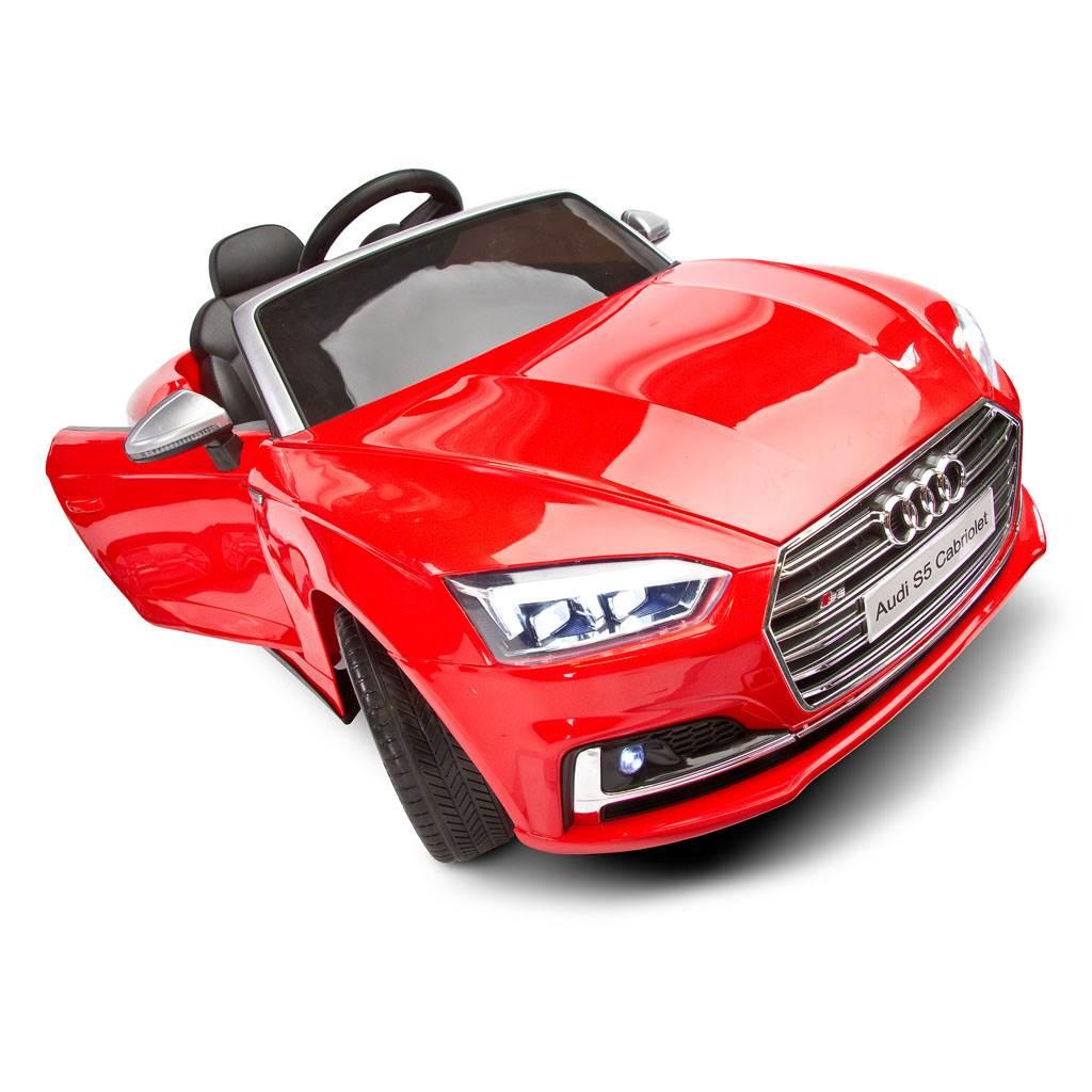 Elektrické autíčko Toyz AUDI S5 - 2 motory white
