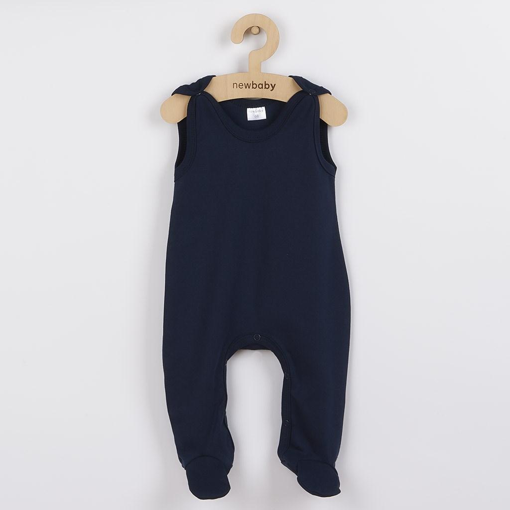 Dojčenské dupačky New Baby Classic II tmavo modré-86 (12-18m)
