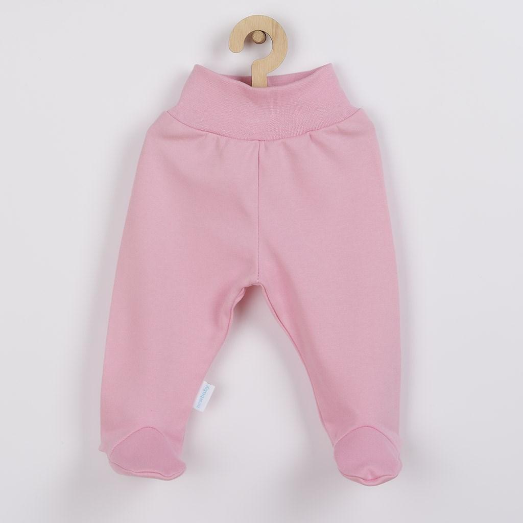 Dojčenské polodupačky New Baby Classic II ružové-74 (6-9m)