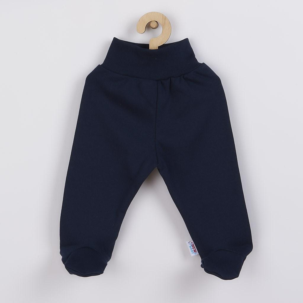 Dojčenské polodupačky New Baby Classic II tmavo modré-80 (9-12m)