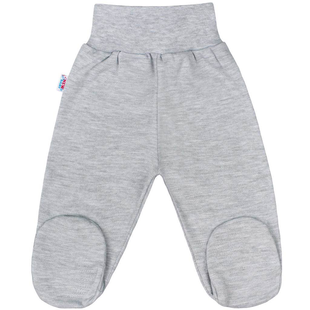 Dojčenské polodupačky New Baby Classic II sivé-86 (12-18m)