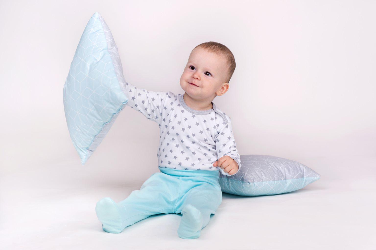 Dojčenské polodupačky New Baby Classic II mätové