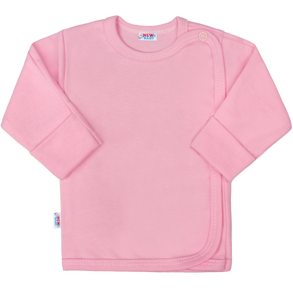 Dojčenská košieľka New Baby Classic II ružová 62 (3-6m)