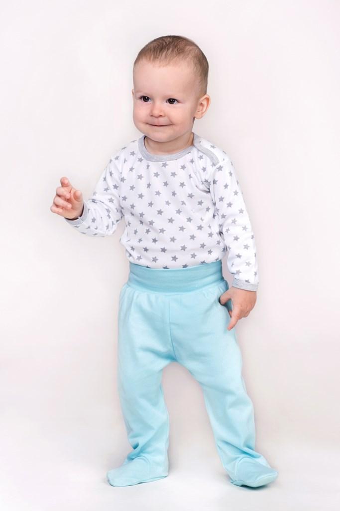 Dojčenská košieľka New Baby Classic II sivá s hviezdičkami 62 (3-6m)