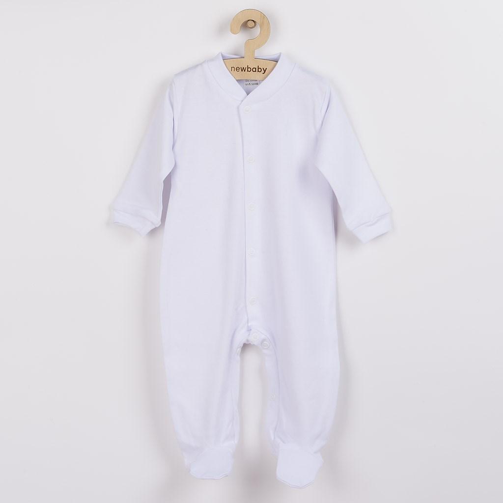Dojčenský overal New Baby Classic biely-80 (9-12m)