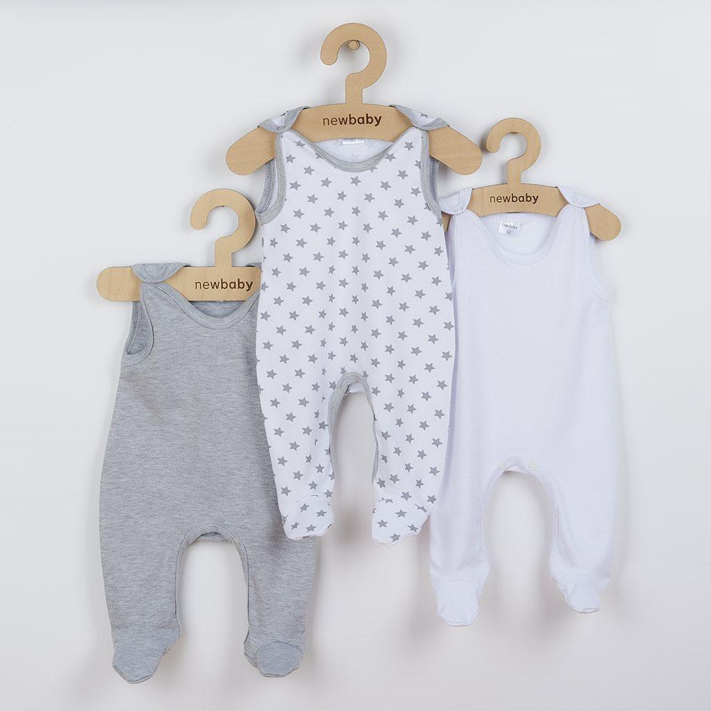 Dojčenské dupačky New Baby Classic II Uni 3ks-80 (9-12m)