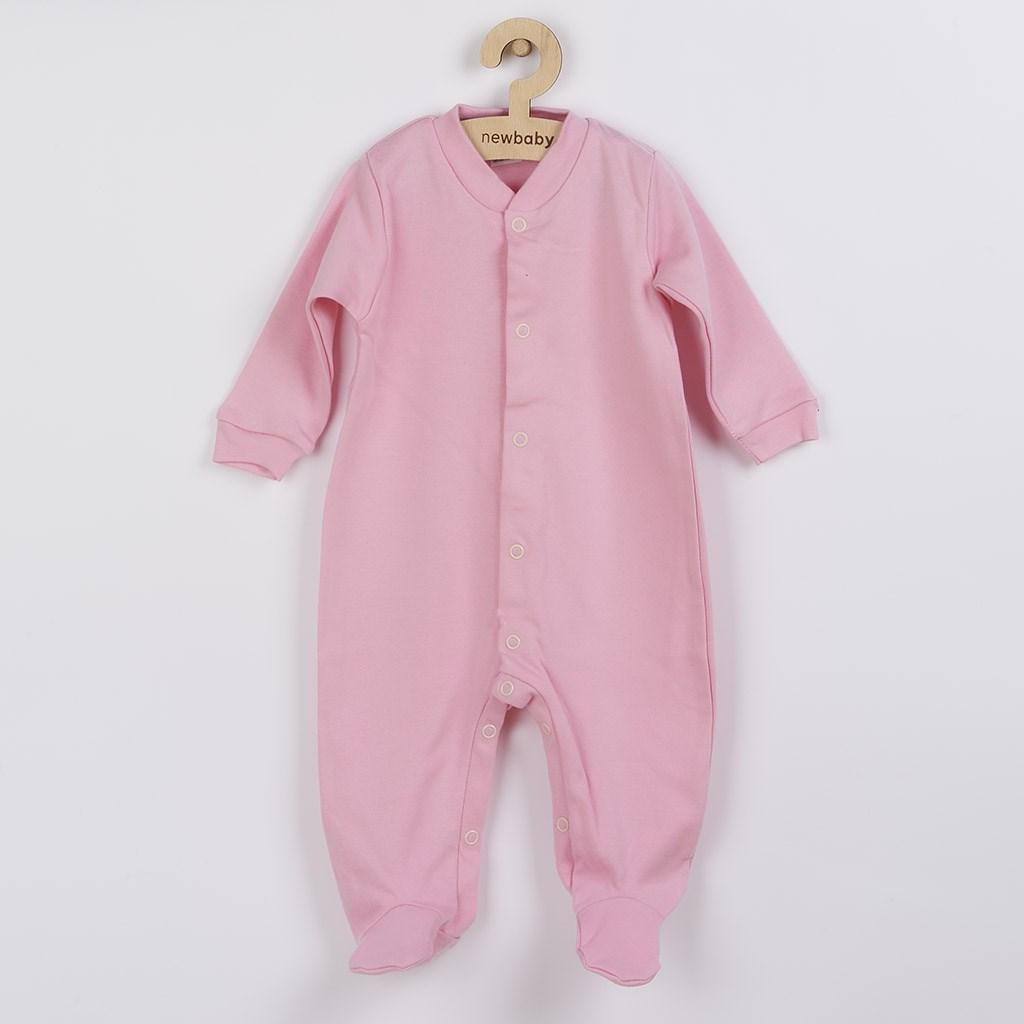 Dojčenský overal New Baby Classic II ružový-80 (9-12m)