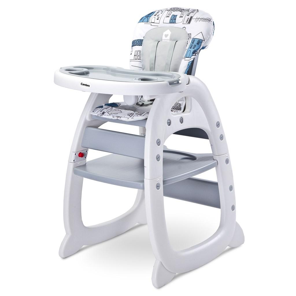 107bf358be94 Jedálenská stolička CARETERO HOMEE grey