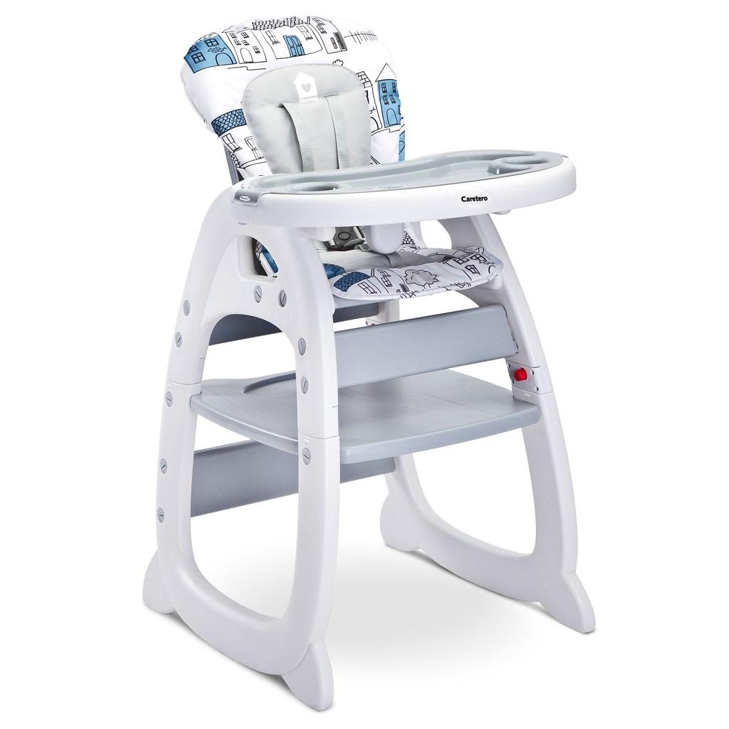 b7766e27ce40 Jedálenská stolička CARETERO HOMEE grey. VYPREDANÉ