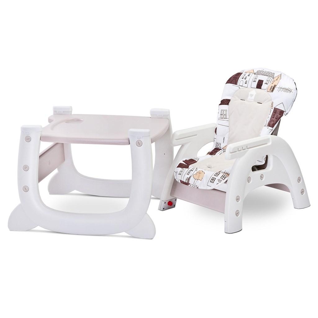 Jedálenská stolička CARETERO HOMEE beige