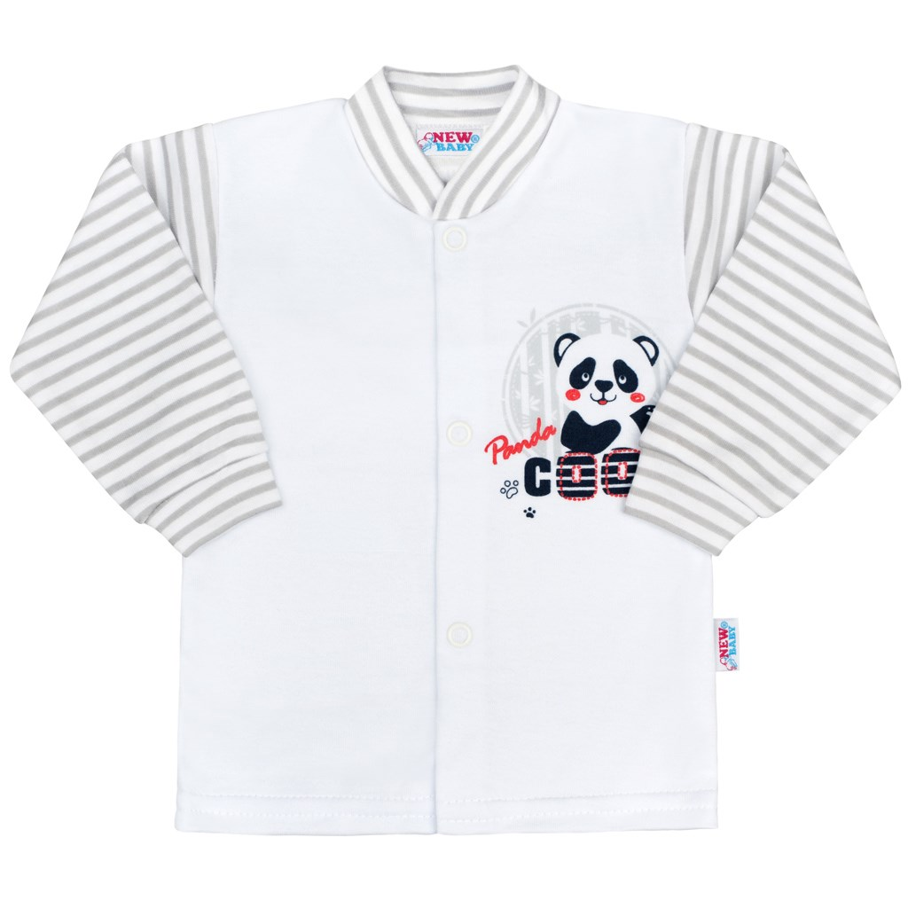 Dojčenský kabátik New Baby Panda-68 (4-6m)