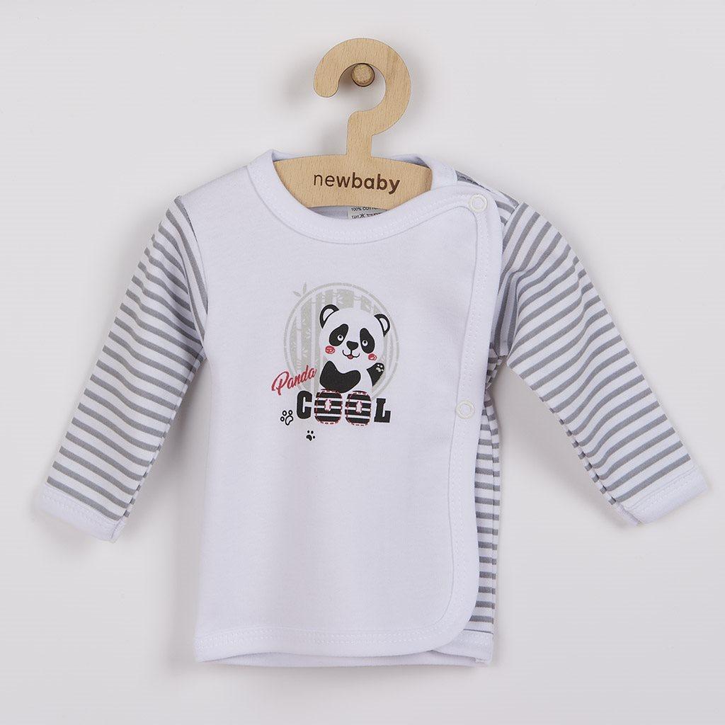 Dojčenská košieľka New Baby Panda-62 (3-6m)