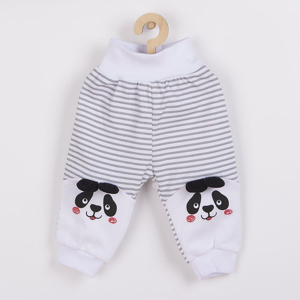 Dojčenské tepláčky New Baby Panda Veľkosť: 80 (9-12m)
