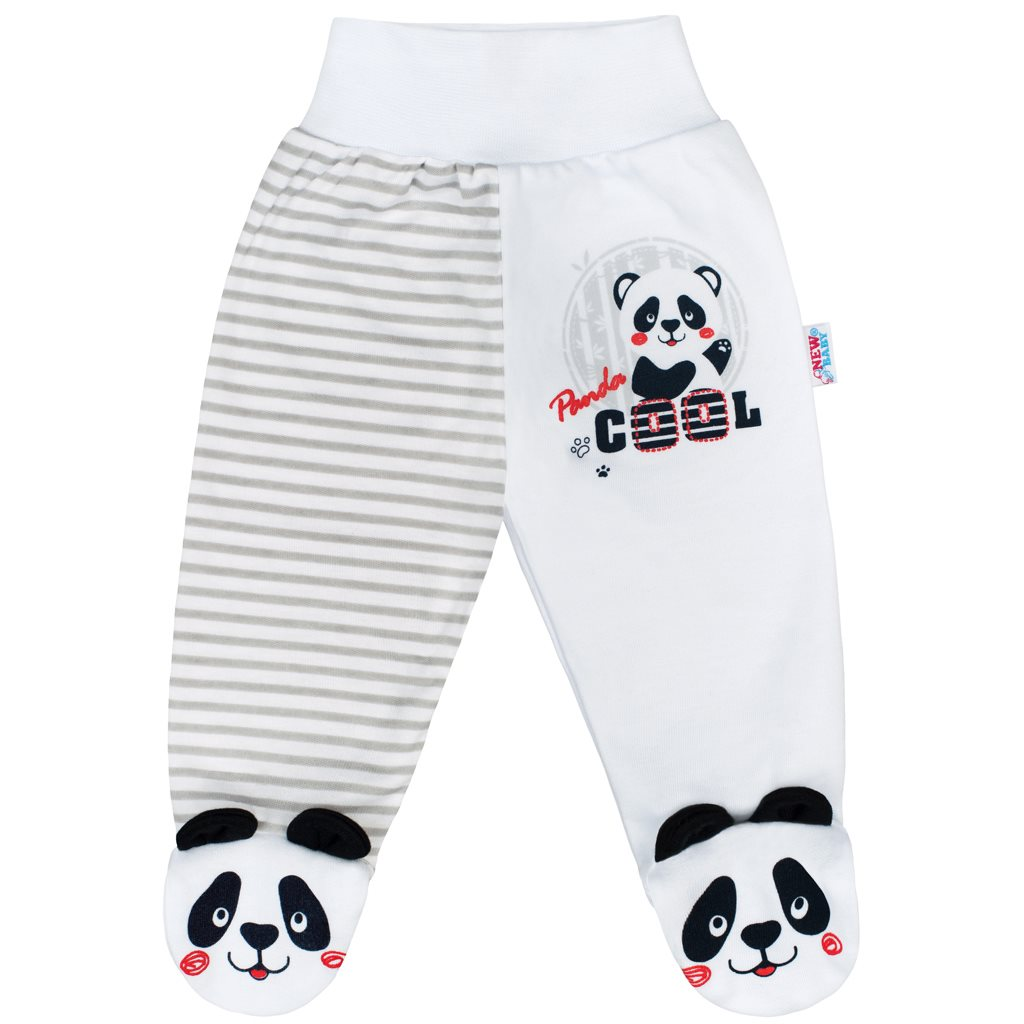Dojčenské polodupačky New Baby Panda