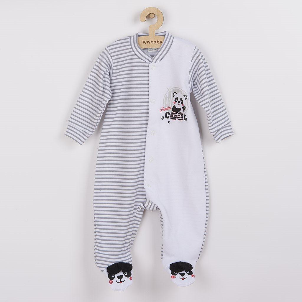 Dojčenský overal New Baby Panda-80 (9-12m)
