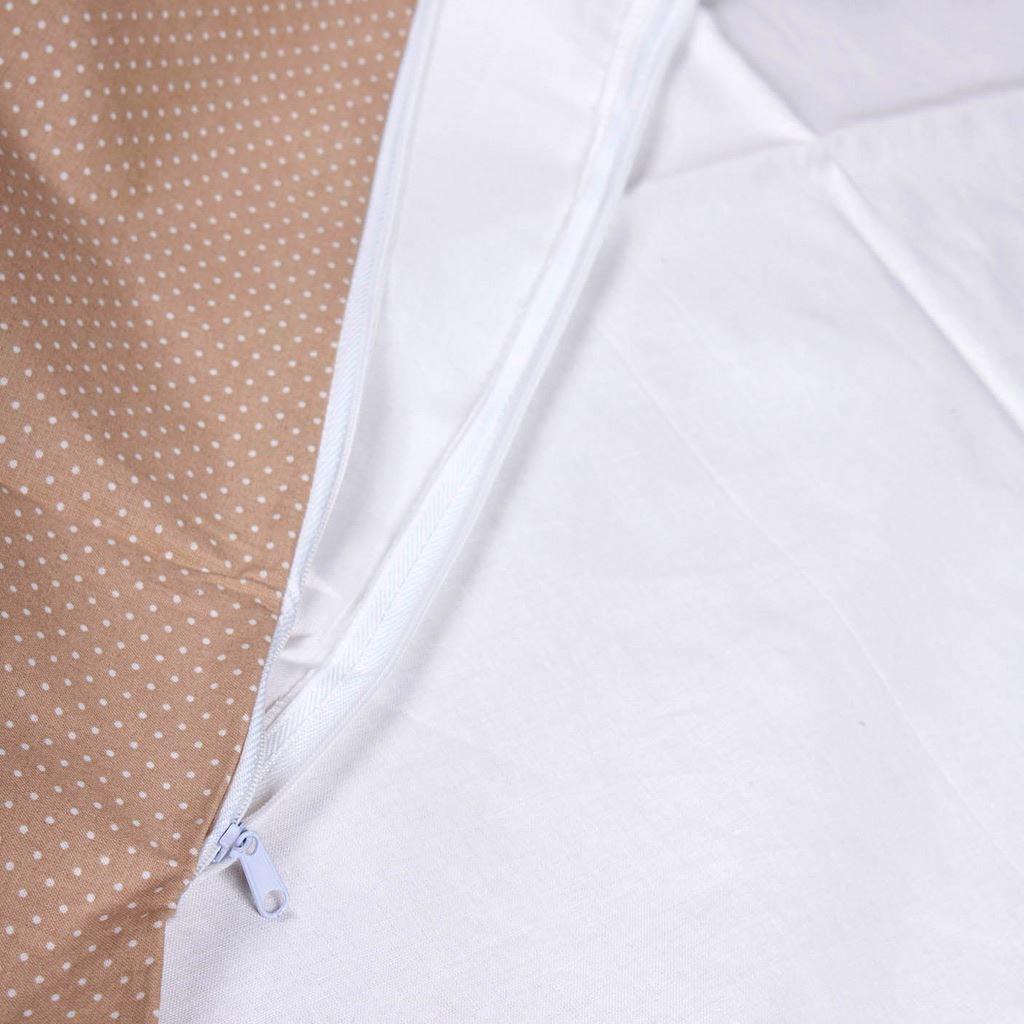 Obliečka sivá s bodkami na zavinovačku Dráčik