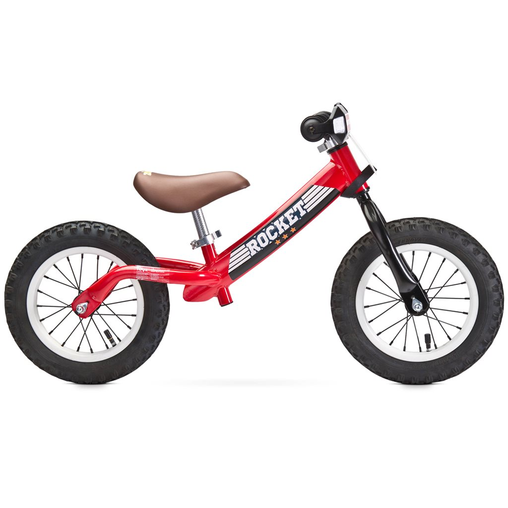 Detské odrážadlo bicykel Toyz Rocket red