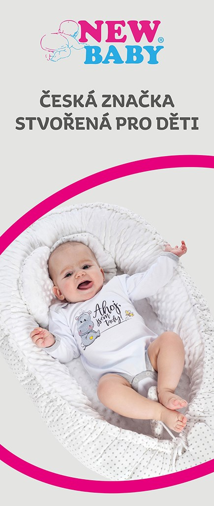 Reklamný Roll-up banner New Baby