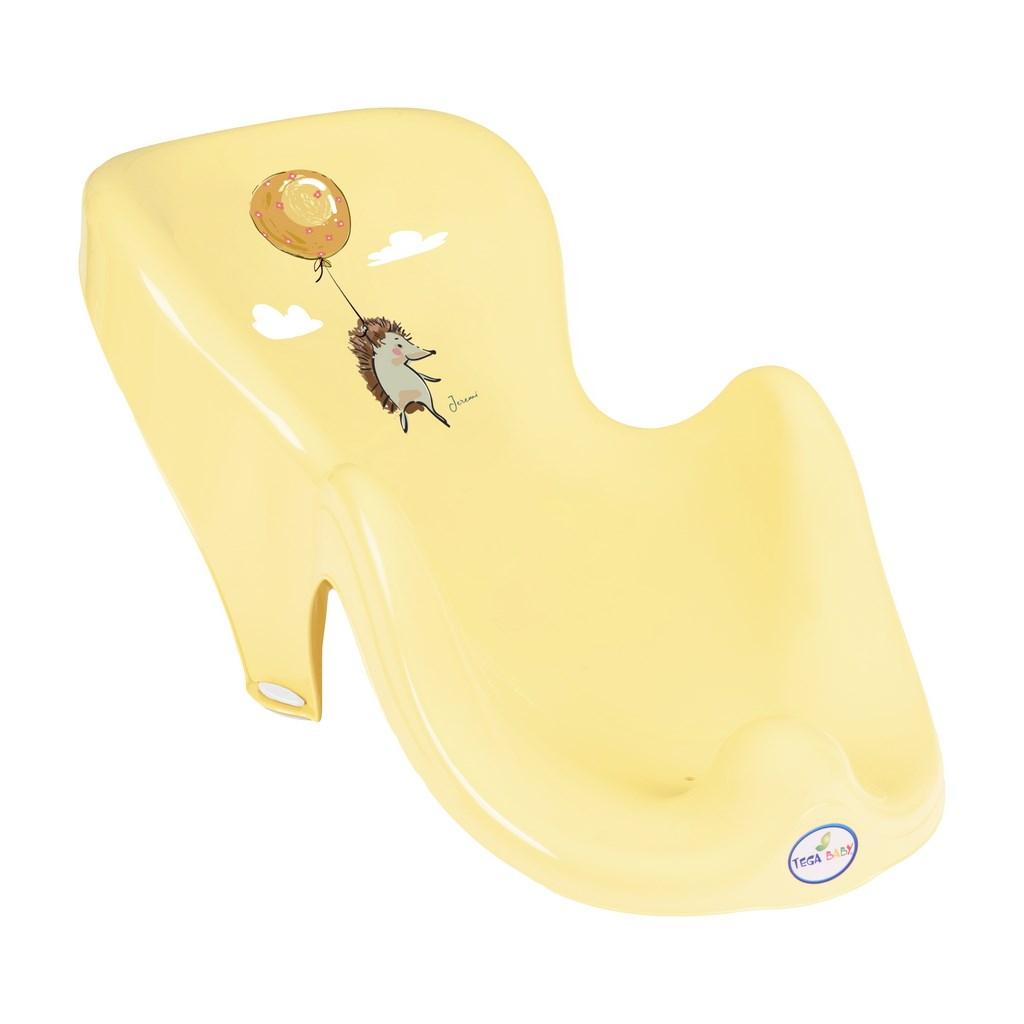 Lehátko na kúpanie ježek žlté