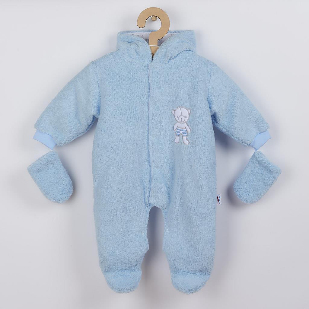 Zimná kombinézka New Baby Nice Bear modrá