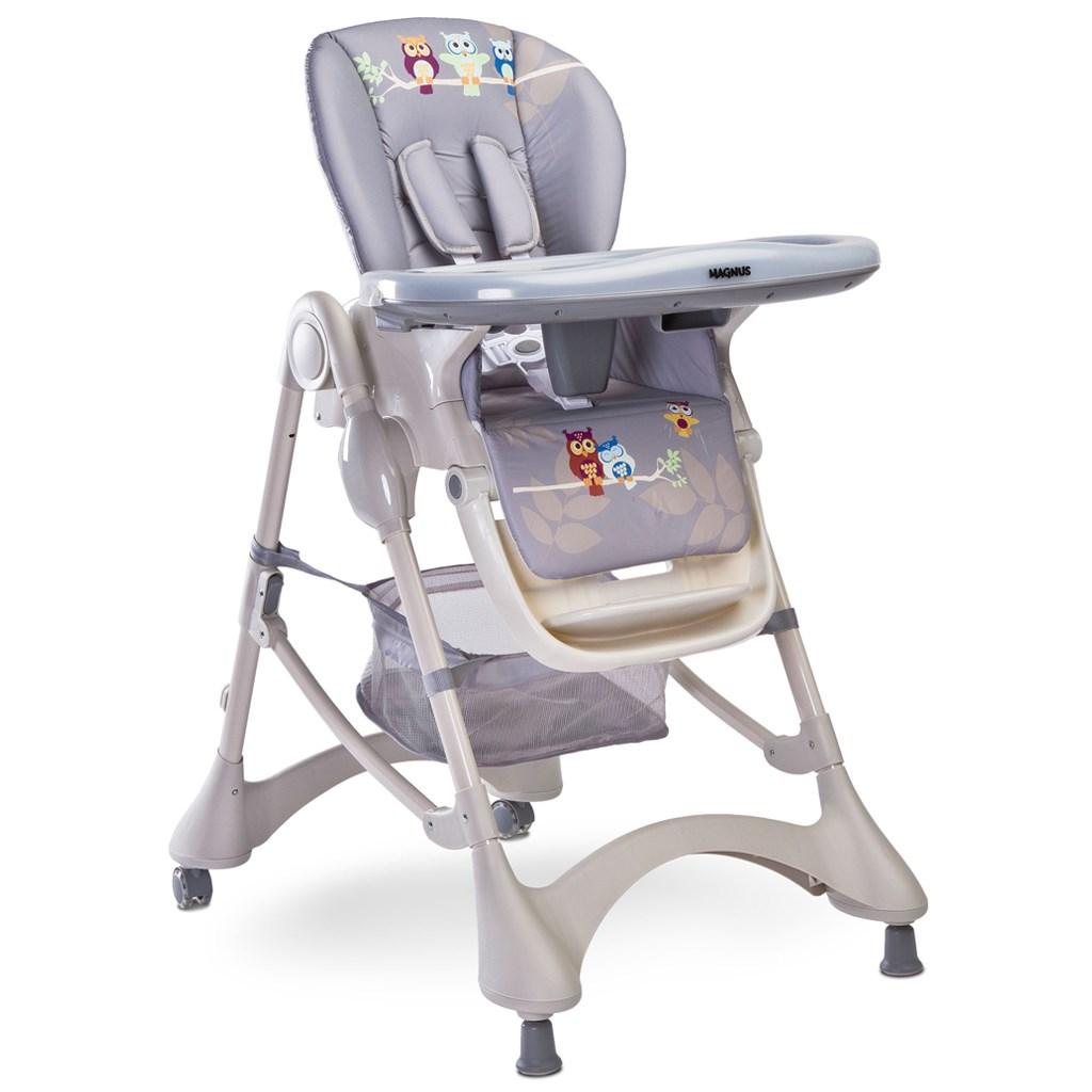 Jedálenská stolička CARETERO Magnus New graphite