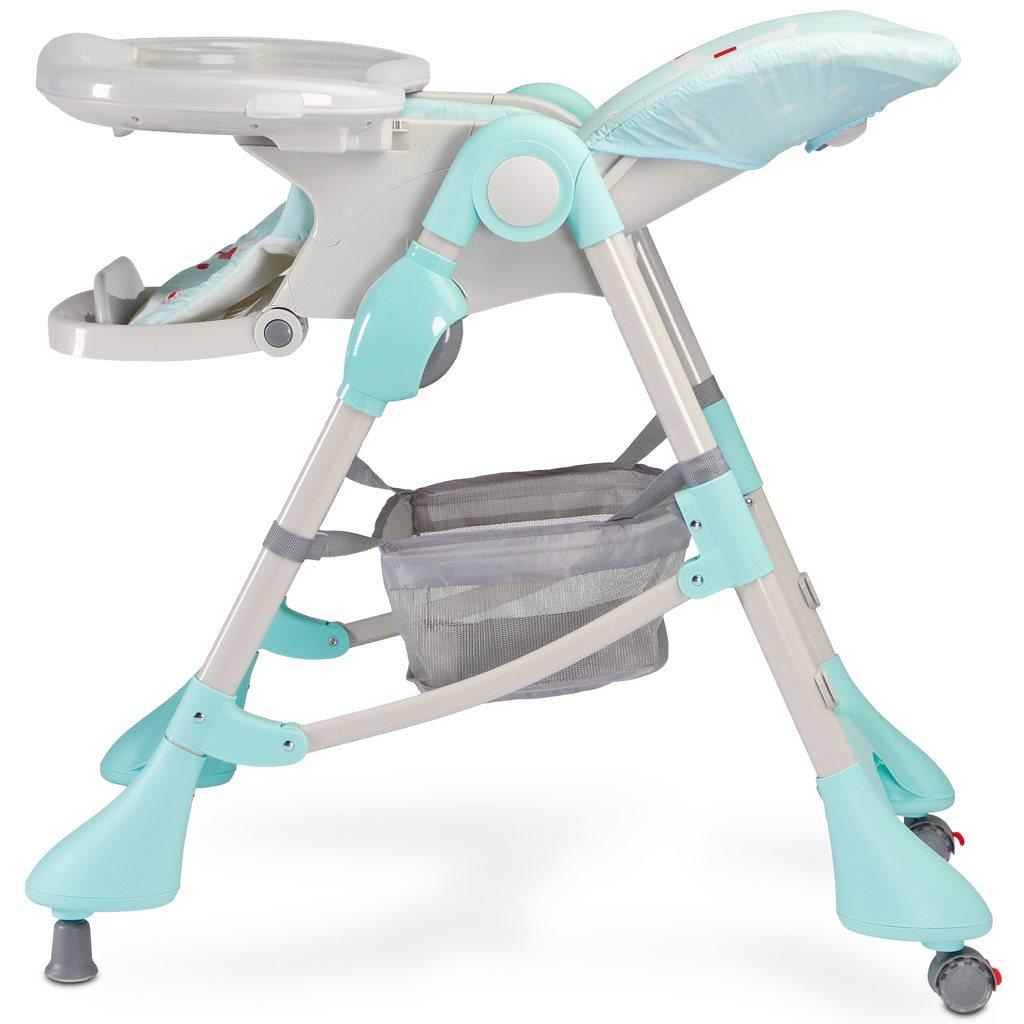 Jedálenská stolička CARETERO Magnus New grey